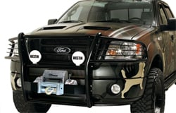 Westin Grille Guard with Off-Road Lights and Winch