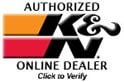 K and N Authorized Dealer
