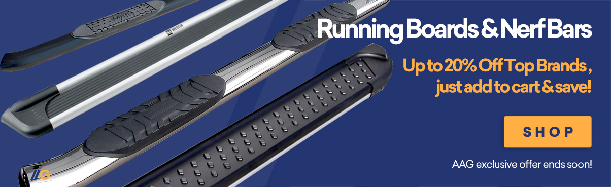 Up to 10% Off Trident Nerf Bars & Running Boards