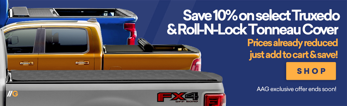 Save 10% on Select Tonneau Covers!