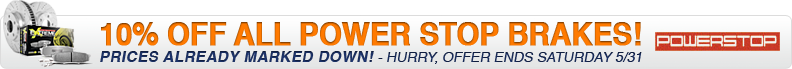 5% Off Power Stop Brake Kits