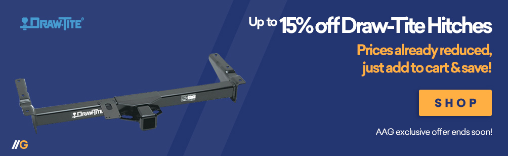Up To 15% off Drawtite Hitches