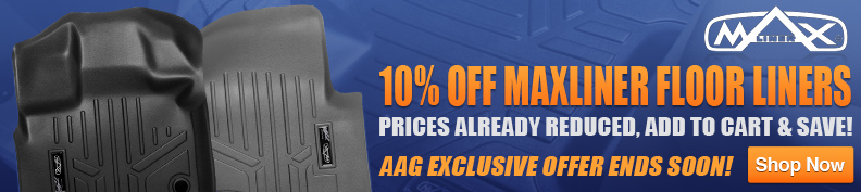 Save 10% on Maxliner floor mats!