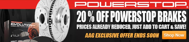 20% Off Power Stop Brakes
