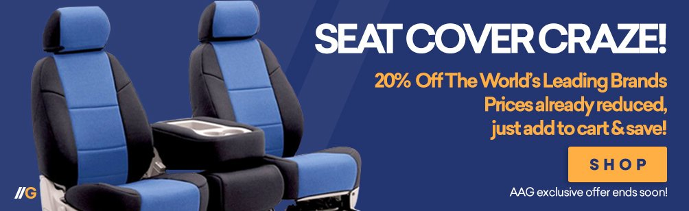 Seat Cover Craze, 10% Price Drop - Prices Already Reduced, Limited Time!