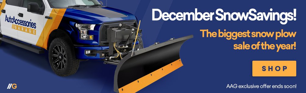 10 - 25% Off Selected Snow Plows!