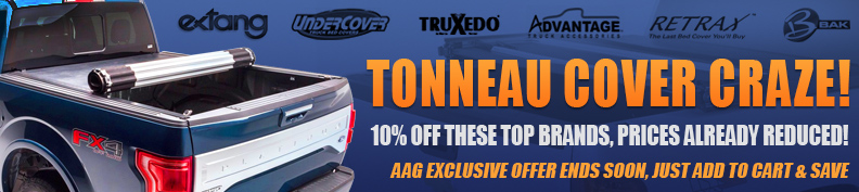 Tonneau Cover Craze - 10% off these brands