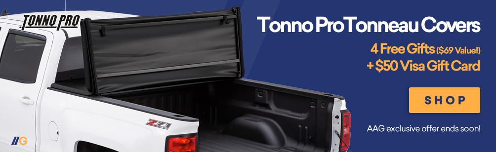 $50 Rebate on Tonnopro Tonneau Covers