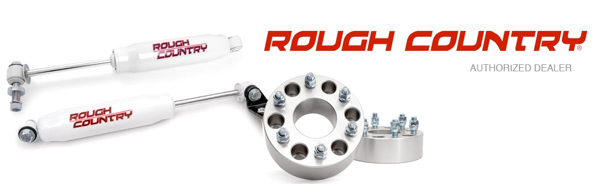 Authorized Rough Country Dealer, Free Shipping & Rough Country Reviews