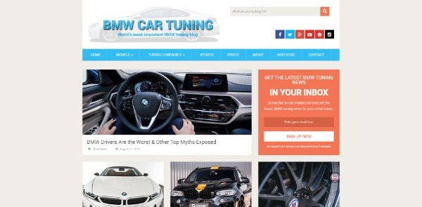 BMW Car Tuning