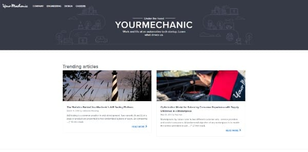 your mechanic blog