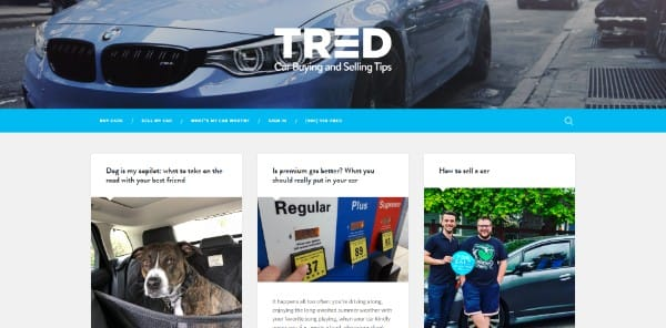 tred test drive blog