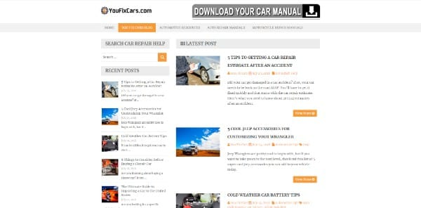 youfixcars blog