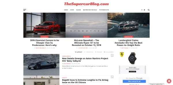 Top 100 Best Car Blogs You MUST Read - 2019 Edition