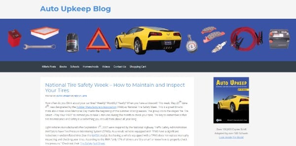 Auto Upkeep Blog