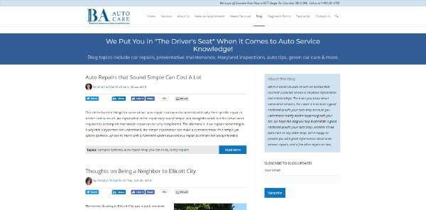 British American Auto Care Blog