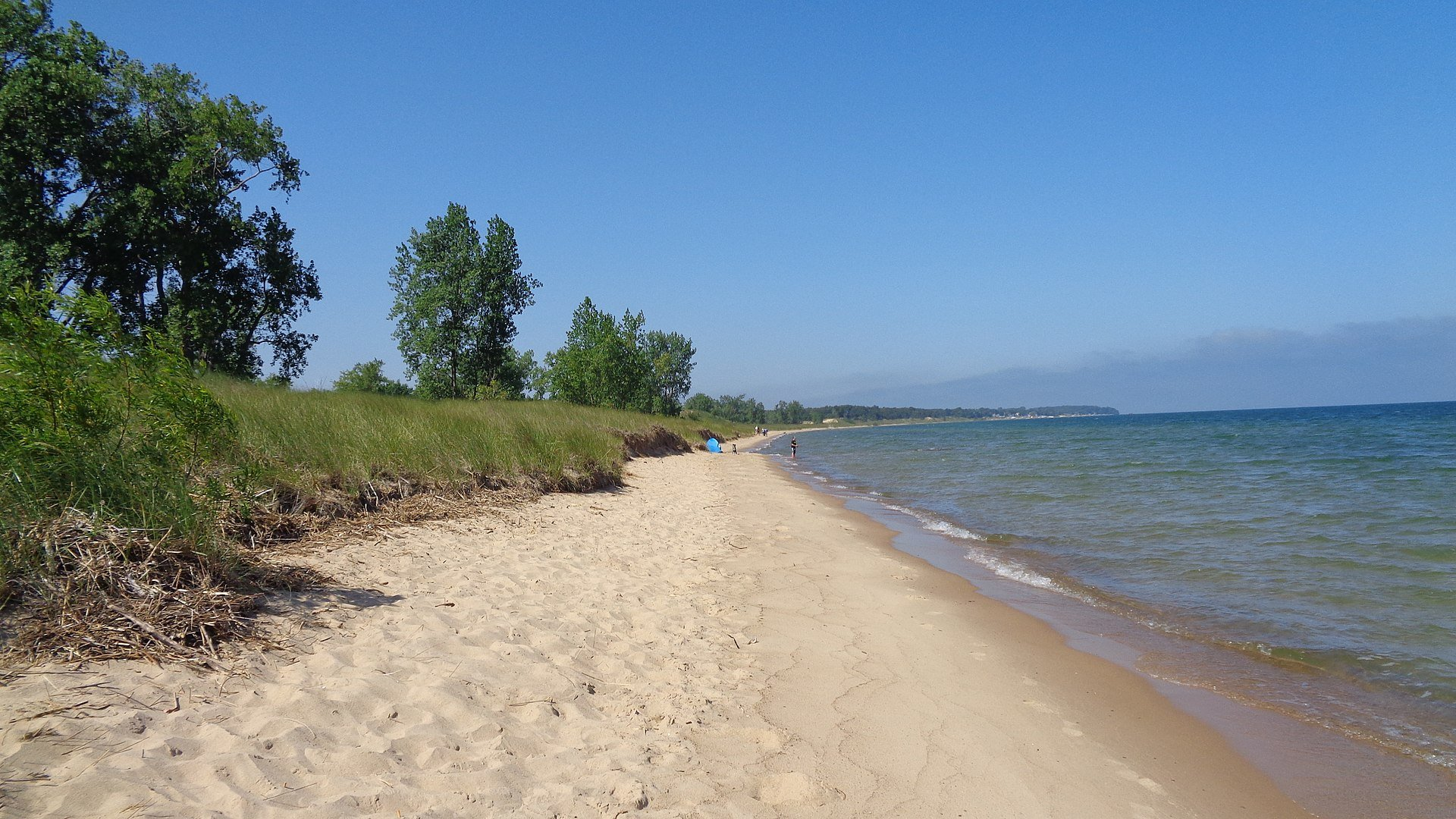 port crescent state park, michigan