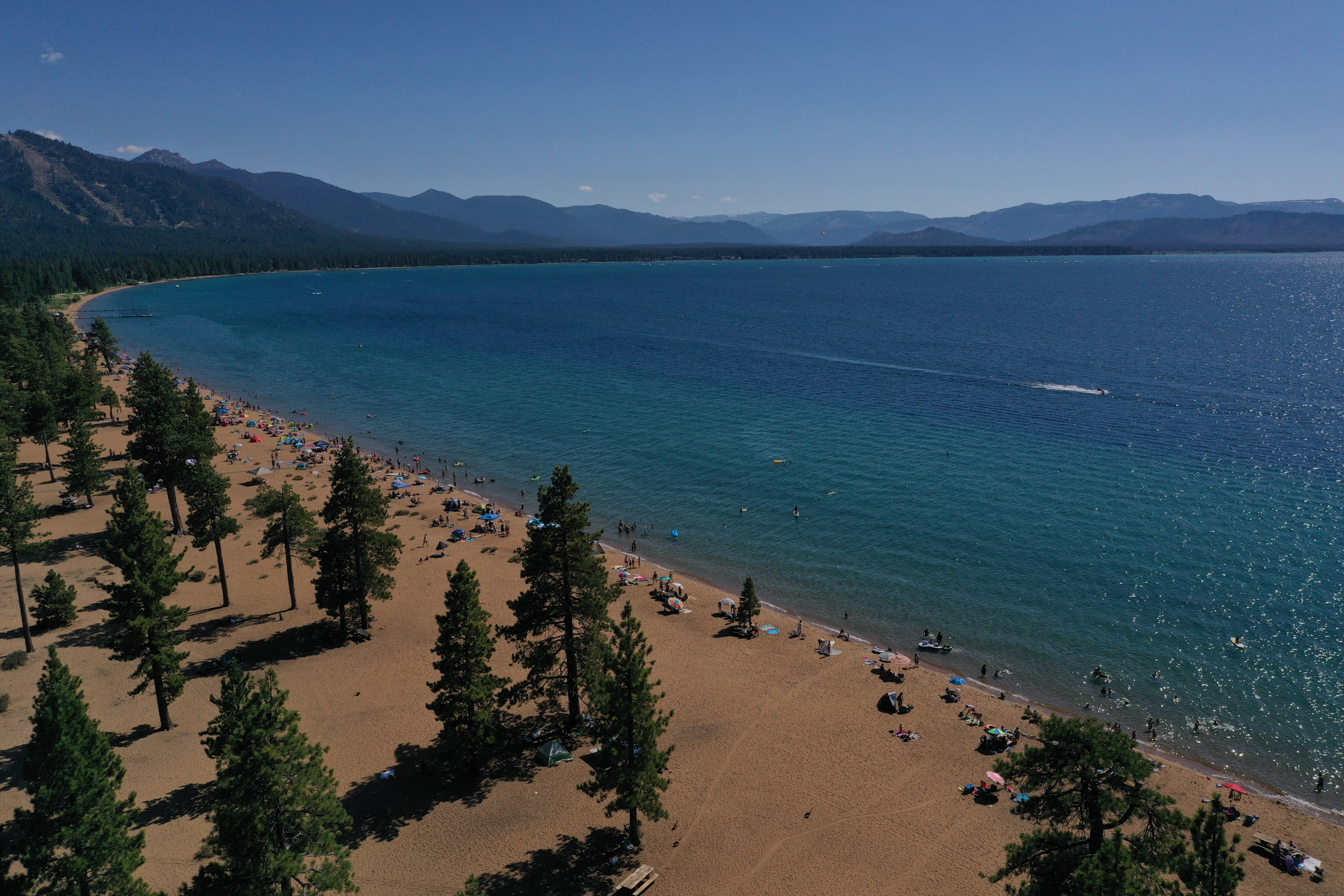 zephyr cove lake tahoe, nevada