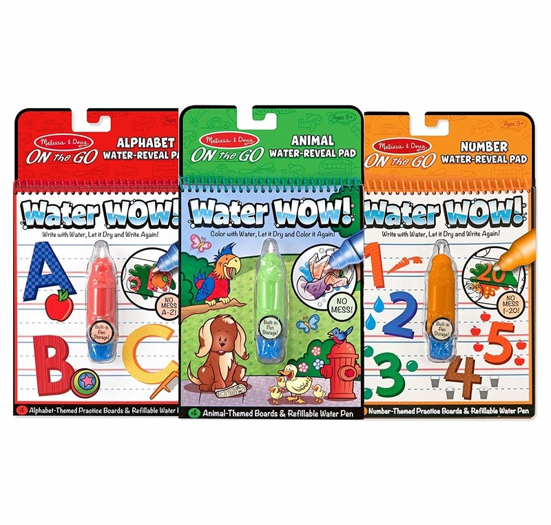 water wow travel activity pads