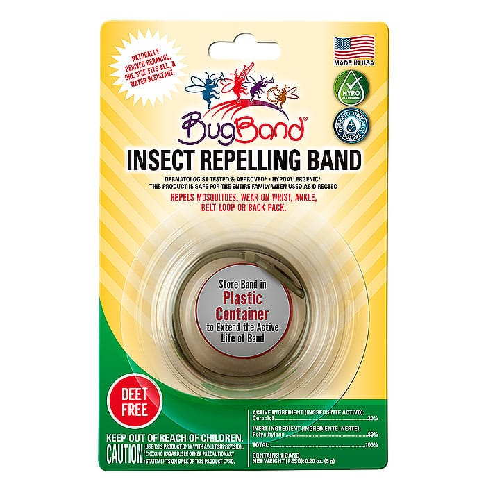bugband insect repelling band