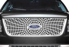 Ford F350 Putco Liquid Spiderweb Grille