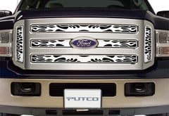 GMC Sierra Pickup Putco Flaming Inferno Grille