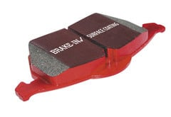 Smart Fortwo EBC Red Stuff Brake Pads