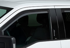 Ford F-250 Putco Element  Window Deflectors