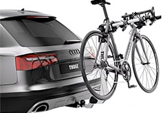 BMW 550i Thule Helium Bike Rack