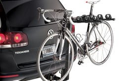 BMW 550i Thule Parkway Bike Rack
