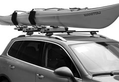 BMW 745Li Thule Hullavator Lift Assisted Kayak Carrier