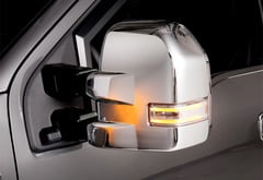 Ford F-250 Putco Chrome Trim Mirror Covers
