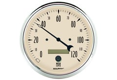 Lincoln Continental Autometer Antique Beige Series Gauges