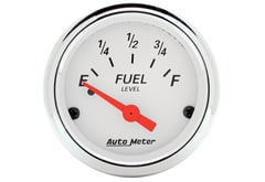 Chrysler LeBaron Autometer Arctic White Series Gauges