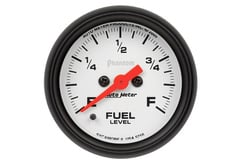 Chrysler LeBaron Autometer Phantom Series Gauges