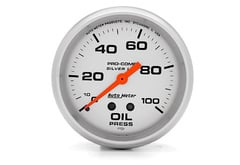 Chevrolet Malibu Autometer Silver Series Gauges