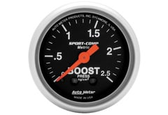 Mercedes-Benz C230 Autometer SportComp Series Gauges