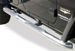 Ford F-350 Rampage Round Step Bars