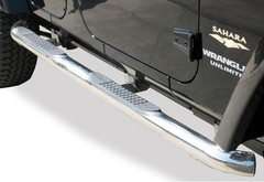 Dodge Ram 2500 Rampage Round Step Bars