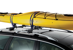 Ford Focus Thule Glide and Set Kayak Carrier