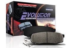 Mitsubishi Endeavor Power Stop Evolution Clean Ride Ceramic Brake Pad
