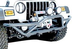 Rugged Ridge Rock Crawling Front Tube Bumper