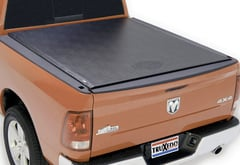 GMC Canyon TruXedo Lo Pro Tonneau Cover with HarleyDavidson logo