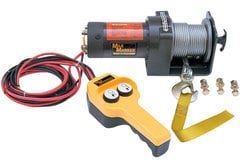 Jeep Wrangler Mile Marker Compact Electric Winch