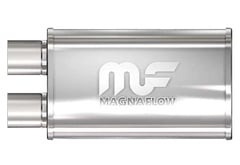 Mercedes-Benz 500SL MagnaFlow Polished Stainless Steel Muffler