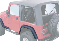 Jeep Wrangler Rugged Ridge Replacement Fender Flare Kit