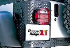 Jeep Wrangler Rugged Ridge Body Armor Rear Tail Corners