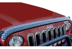 Jeep Wrangler Rugged Ridge Body Armor Component Hood Stone Guard