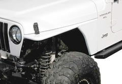 Jeep Wrangler Rugged Ridge RRC Tubular Flat Fenders