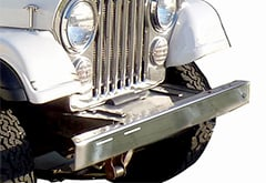 Jeep CJ5 Rugged Ridge Front Bumper Overlay
